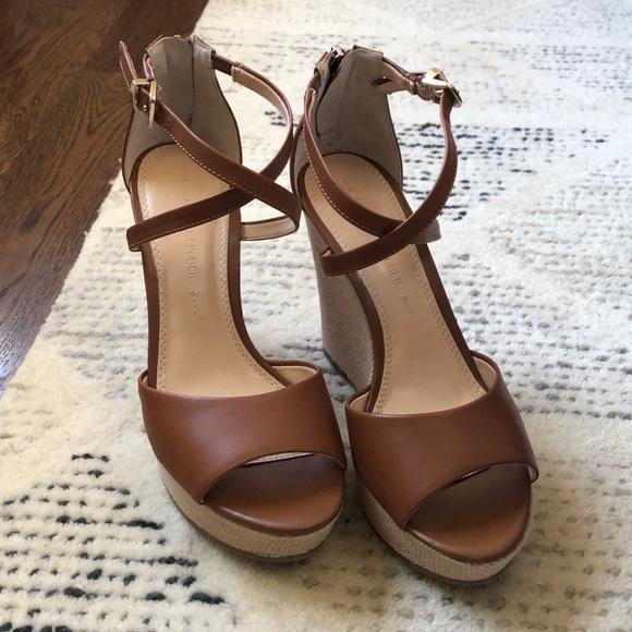 4fbafc3939 Banana Republic Shoes | Wedge Sandals | Poshmark